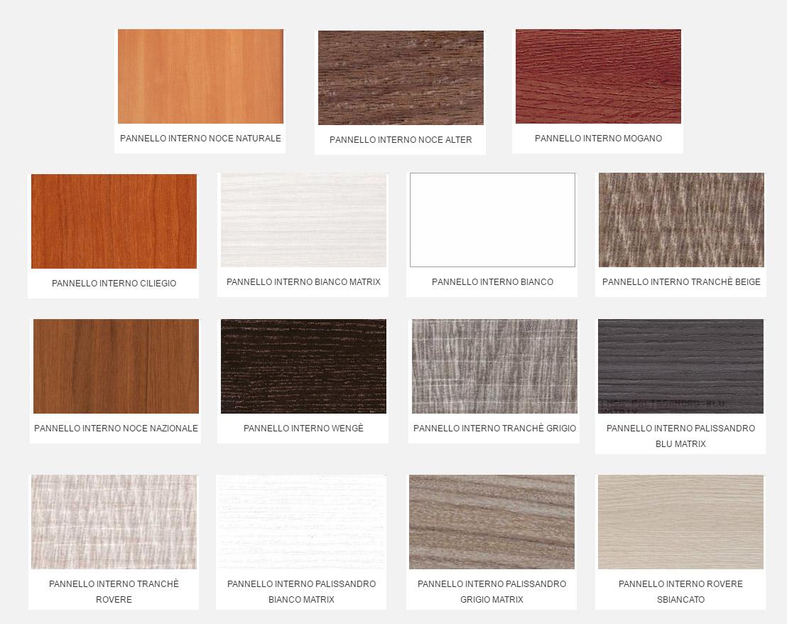 Colori Pannelli Porte Blindate colori pannelli lisci - blindo facile